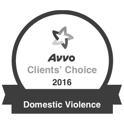 Avvo Client's Choice 2016 Domestic Violence Badge