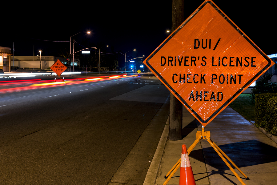 Los Angeles DUI Checkpoints - A DUI check point in Anaheim CA.