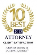 10 Best Attorney Client Satisfaction American Institute Of DUI DWI 2018 Attorneys Moaddel Law Firm Best Criminal Defense Attorney