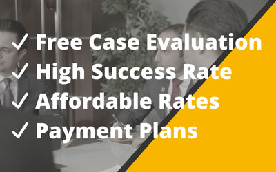 Free Consultation, High Success Rate, Affordable Rates, Payment Plans