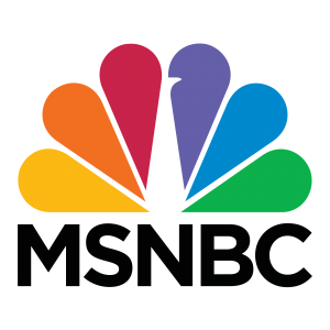 MSNBC Logo used to showcase Moaddel Law Firm's results in the news