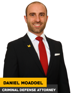 Los Angeles Criminal Defense Attorney Daniel Moaddel